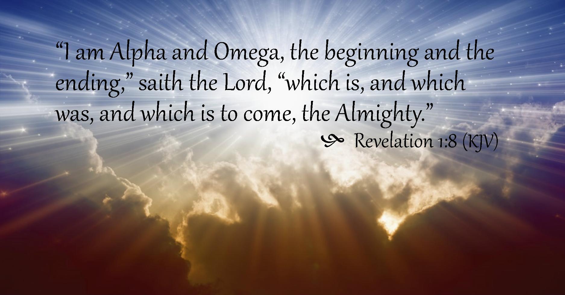 Revelation 1:8 - Wellspring Christian Ministries